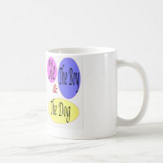 Me The Boy & The Dog Coffee Mug