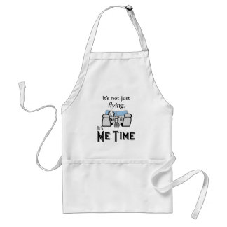 Me Time Flying Adult Apron