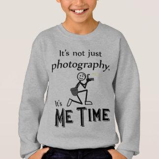 Me Time Photography Sweatshirt
