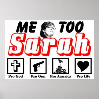 Me Too, Sarah! Poster