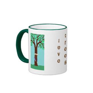 ME + TREE RINGER COFFEE MUG
