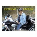 me trike, American          Legends post card