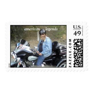 me trike, american     legends postage