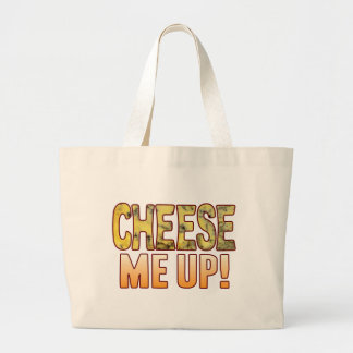 Me Up Blue Cheese Large Tote Bag