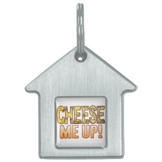 Me Up Blue Cheese Pet Name Tag