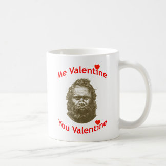 Me Valentine, You Valentine Classic White Coffee Mug