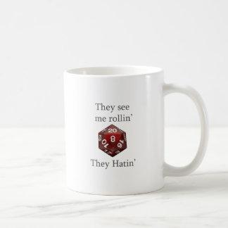 Me ven engranaje del rollin taza de café