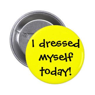 Me vestí hoy pins