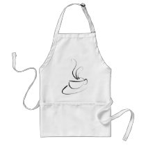 Me Want Coffee Adult Apron