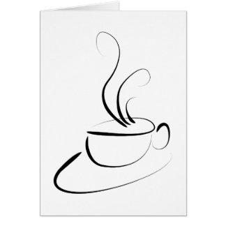 Me Want Coffee Card