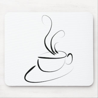 Me Want Coffee Mouse Pad