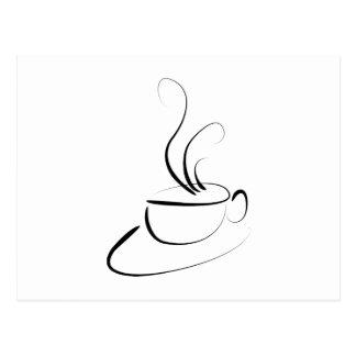 Me Want Coffee Postcard
