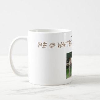 Me @ Water Hole . Dry Classic White Coffee Mug