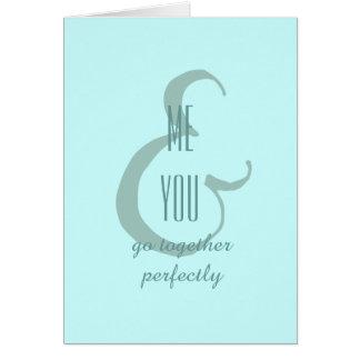 Me & You Card