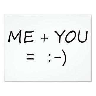 Me & You Cute design! Card