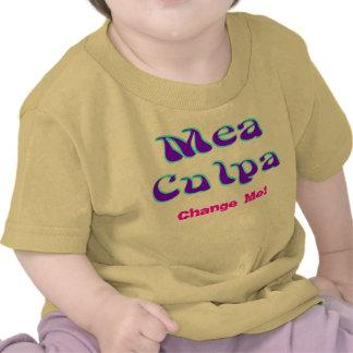 Mea culpa Psychedelic Graffiti Graphic Tee Shirt