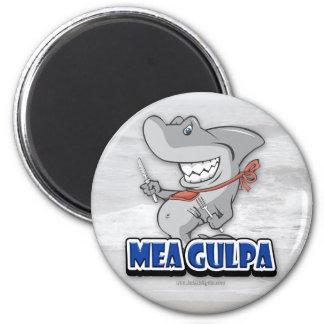 Mea Gulpa... 2 Inch Round Magnet
