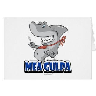 Mea Gulpa... Card