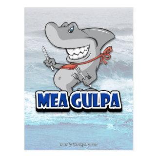 Mea Gulpa... Postcard