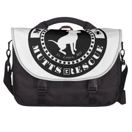 Meacham's Mutts Logo Laptop Bags