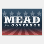 MEAD FOR GOVERNOR 2014 SIGNS
