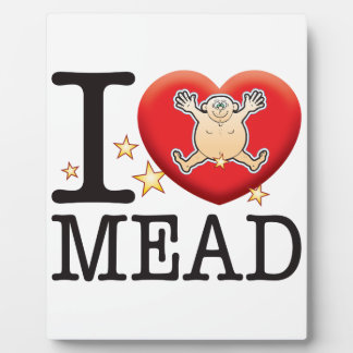 Mead Love Man Display Plaque