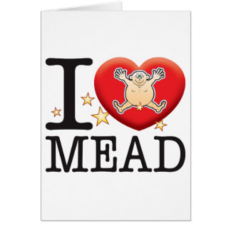 Mead Love Man Greeting Card