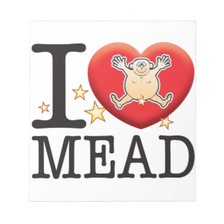 Mead Love Man Notepads