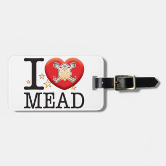 Mead Love Man Tag For Bags