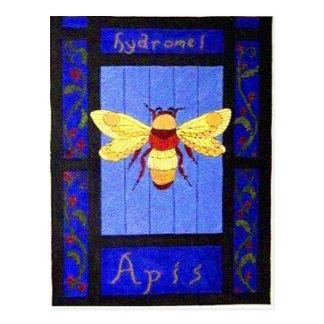 Meade Bee Postcard