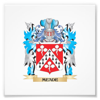 Meade Coat of Arms - Family Crest Photograph