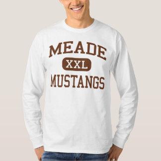Meade - Mustangs - High - Fort Meade Maryland T-Shirt