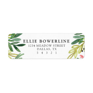 Meadow Address Labels at Zazzle