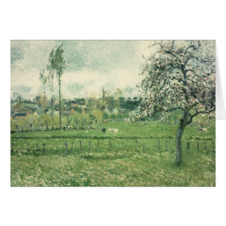 Meadow at Eragny, 1885 Card