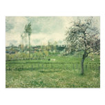 Meadow at Eragny, 1885 Postcard