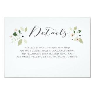 Meadow Blooms Details Card