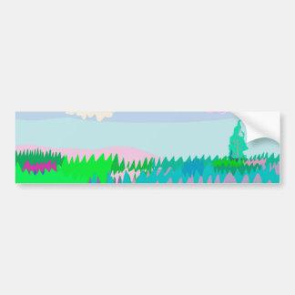 Meadow Bumper Sticker