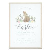 Meadow Bunny -  Easter Invitation