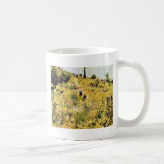 Meadow By Pierre-Auguste Renoir (Best Quality) Mug