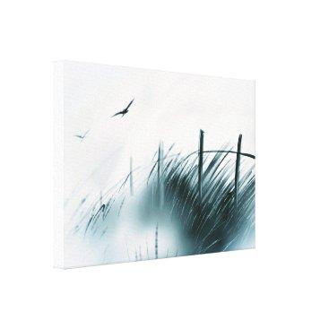 "Beach Themed ""Meadow Crossing"" Art on Canvas"