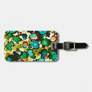 Meadow Flora Luggage Tag