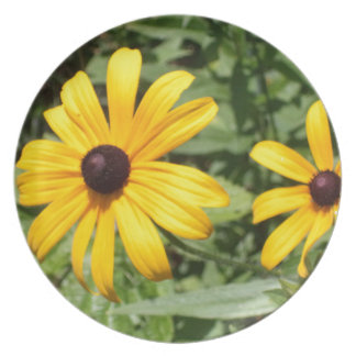 Meadow Flowers 1 Melamine Plate
