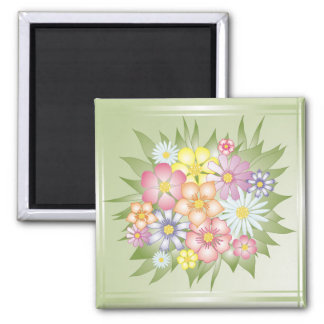 meadow flowers magnet