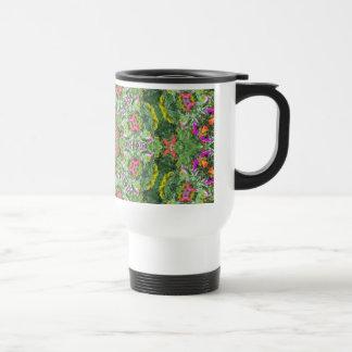 Meadow Flowers Mandala Travel Mug