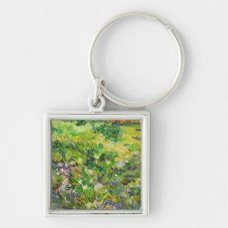 Meadow Garden Saint-Paul Hospital Vincent van Gogh Keychain