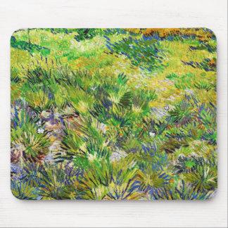 Meadow Garden Saint-Paul Hospital Vincent van Gogh Mouse Pad