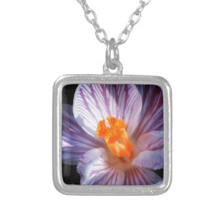 Meadow Gold Square Pendant Necklace
