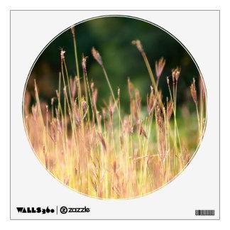 Meadow Landscape Circle Window Wall Sticker