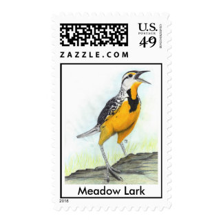 Meadow Lark Stamps, Postage