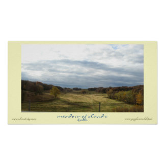 Meadow of Clouds Poster